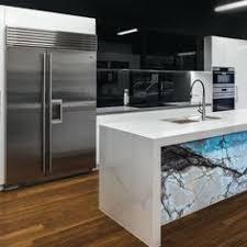 Designer Kitchens Brisbane Toni Packer Design Caesarstone Brown Agate Backlit Luxury Kitchen