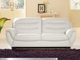 canap cuir blanc 2 places canap blanc 2 places best canape cuir blanc design canape places