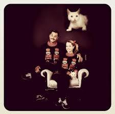funny cat family christmas cards u2013 happy holidays