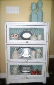 Chicken Wire Cabinet Doors Bookcase With Glass Removed And Chicken Wire In It S Place