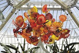 Blown Glass Chandeliers Dale Chihuly Glass Chandeliers Blown Glass Art