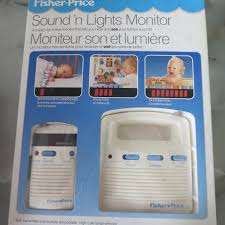 fisher price lights and sounds monitor find more euc fisher price sound n lights monitor model 1550 for