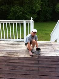 deck painting u0026 staining mom in music city