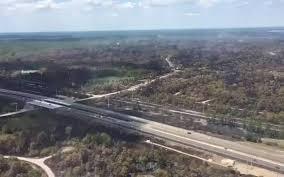 Wildfire Cartoon Youtube by Crews Mopping Up Wildfire Near North Port Monday Bradenton Herald