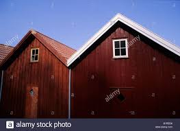 Shed Style Houses by Boat Shed In The Traditional Norwegian Style Of Red Wooden Houses