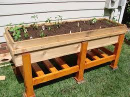 planter bench plans raised garden planter box plans home outdoor decoration
