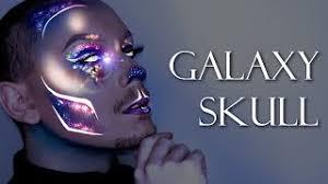 glitter galaxy pulled up skin halloween makeup tutorial u2013 music