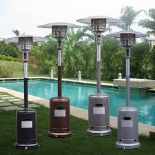 garden outdoor patio heater propane standing lp gas steel w acce