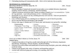 Phlebotomist Resume Example by Medical Technologist Resume Example Med Tech Things Pinterest Med