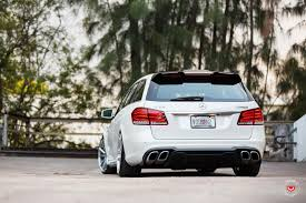 bagged mercedes e class vossen wheels mercedes benz e class vossen forgedprecision