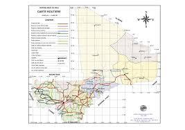 Map Of Mali 2 3 Mali Road Network Assessment Logistics Capacity Assessment