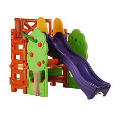 amazon com ecr4kids tree top climb and slide play structure