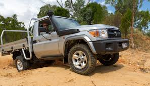 land cruiser 70 pickup 2017 toyota landcruiser 79 series single cab chassis review