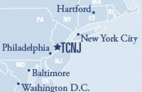 tcnj map the of jersey ewing jersey find unique venues