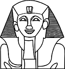 smile ancient egypt statue coloring page wecoloringpage