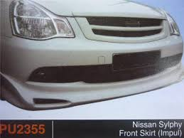 nissan sylphy impul nissan sylphy front skirt impul pu2 end 3 23 2016 12 15 pm