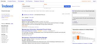 How To Post A Resume On Craigslist 7 Tools For Finding Your Dream Church Technology Job