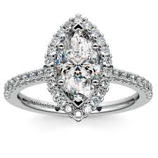 unique engagement ring settings most popular marquise diamond settings