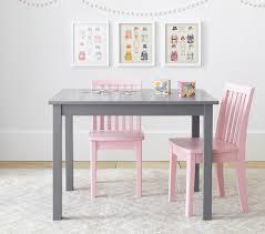White Kids Table And Chair Set - carolina small table u0026 2 chairs set pottery barn kids
