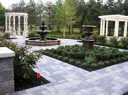 Small Garden Bed Design Ideas by Landscape Wonderful French Country House With Small Home Design