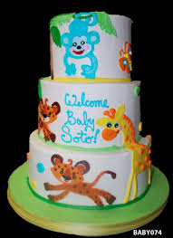 giraffe baby shower cake baby shower cakes three brothers bakery houston tx