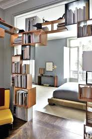 art deco room dividers more open bookcase curtain design ideas