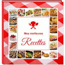 recette de cuisine exemple de livre de recette de cuisine à personnaliser