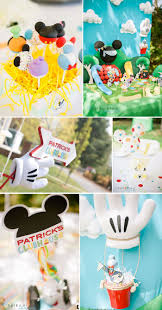 61 best alexander s 3rd birthday party ideas images on pinterest mickey mouse clubhouse 1st birthday party with tons of cute ideas via kara s party ideas