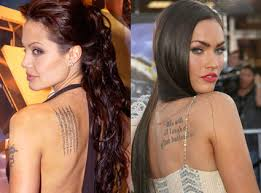 credit karma commercial actress tattoo what celebrities are really selling sarah s comm 325 blog