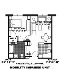 Carleton Floor Plans Carleton Co Op Senior Apartments Carleton Mi