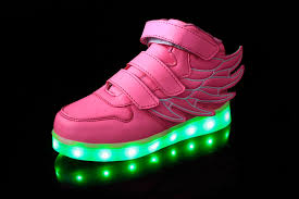 led lights shoes nike boys girls led light up usb charge sneakers wings kids boots shoes