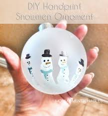 how to make a handprint ornament