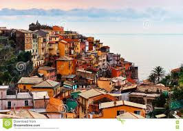 Manarola Italy Map by Colorful Italian Village Of Manarola Italy Stock Photo Image