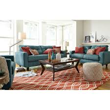 west village sofa blue american signature furniture