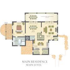Italian Villa Floor Plans by Villa Il Vigneto Castello Di Casole