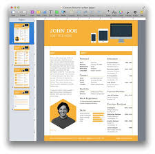 Free Unique Resume Templates Free Resume Templates Download For Mac Resume Template And