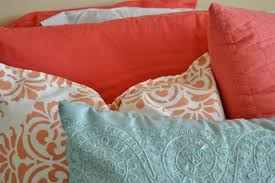 Coral Comforter Sets Bedroom White Crib With Coral And Turquoise Bedding Plus Wooden