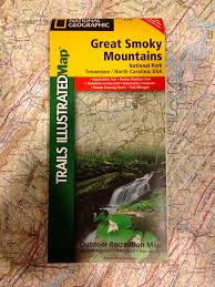 Tennessee Mountains Map by Black Dome Mountain Sports Shop