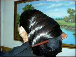 pics of black pretty big hair buns with added hair what a beautiful large low bun with braid topping care however
