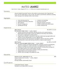 aide resume aide resume skills template for teachers sle