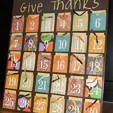 thanksgiving count gratitude board calendar countdown tip