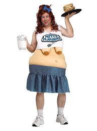 mens costume skanky waitress mens costume maskworld
