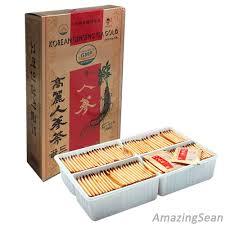 Minuman Ginseng Korea jual korea ginseng tea 100 bags 300g anti aging anti stress
