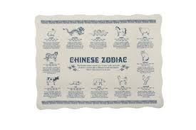 zodiac placemat diner placemats design crush