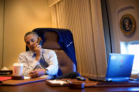 Air Force One Installation by Electrospaces Net New Phones Aboard Air Force One
