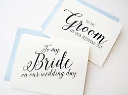 to my groom on our wedding day card gift list to my on our wedding day to my groom on our