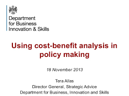 cost benefit analysis in policy making ta 181113