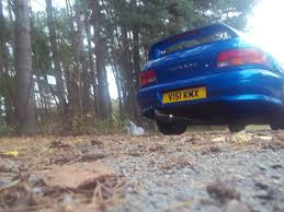 classic subaru classic subaru impreza 2000 turbo with vortex afterburner exhaust