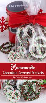 chocolate covered pretzels desserts