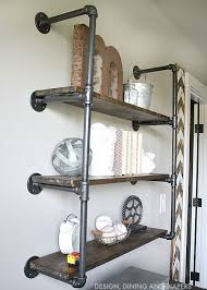 black pipe shelves shelves ideas